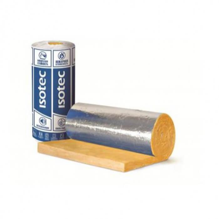 Технічна ізоляція Isover Isotec Mat-Al 100 мм